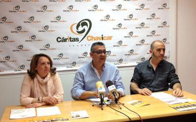 Fundación Cáritas Chavicar aumenta sus atenciones en 2014 e inserta a 138 personas