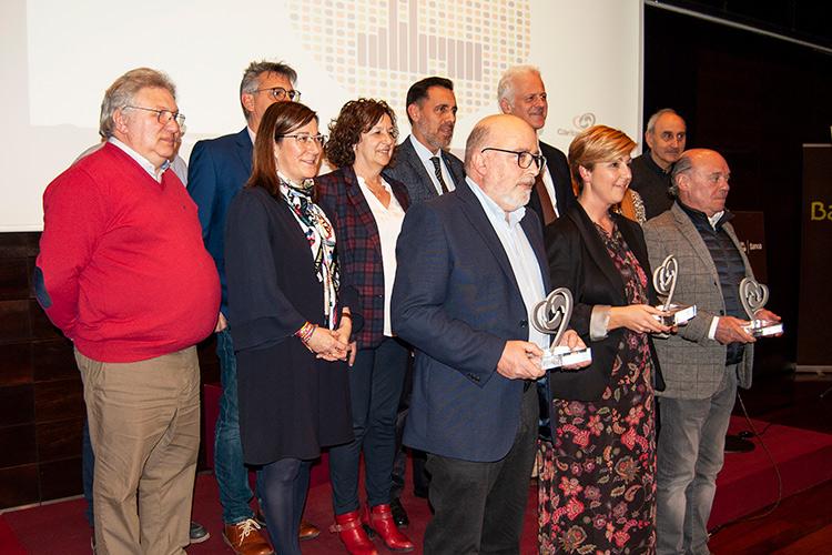 Lares La Rioja, ESD y la Cámara de Comercio, IX Premios con Corazón de Fundación Cáritas Chavicar