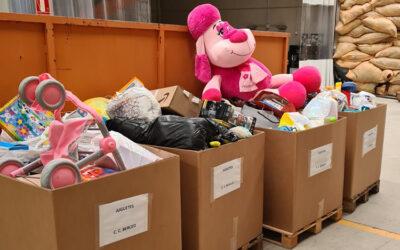 """Más de 2.000 """"juguetes con corazón"""" donados en el Centro Comercial Berceo"""